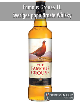 Famous Grouse 1 Liter ** in the group Spirits / Whisky / Skotsk Blended at Vingrossen.com - Vingrossen Handel GmbH (1010)