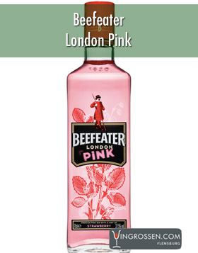 Beefeater Pink London Gin Strawberry 1L* in the group Spritdrycker / Gin at Vingrossen.com - Vingrossen Handel GmbH (15407)