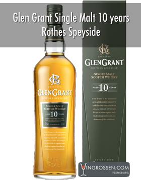 Glen Grant Single Malt 10 years 1 liter i gruppen Spritdrycker / Whisky / Single Malt hos Vingrossen.com - Vingrossen Handel GmbH (16022-1)