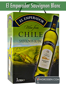 El Emperador Sauvignon Blanc 3 Liter  in the group Vin / Bag In Box / Vitt at Vingrossen.com - Vingrossen Handel GmbH (4013)