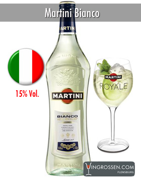 Martini Bianco 0,7 Liter in the group Vin / Starkvin & Sherry at Vingrossen.com - Vingrossen Handel GmbH (7003)