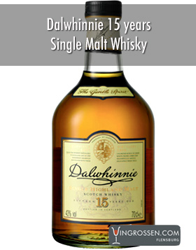 Dalwhinnie Single Malt 15 years 0,7L i gruppen Spritdrycker / Whisky / Single Malt hos Vingrossen.com - Vingrossen Handel GmbH (77693)