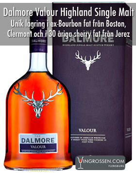 Dalmore Valour Highland Single Malt 1L i gruppen Spritdrycker / Whisky / Single Malt hos Vingrossen.com - Vingrossen Handel GmbH (78815)