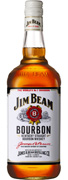 Jim Beam Bourbon Whiskey 1 Liter