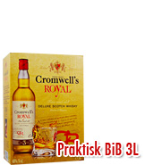 Cromwells Whisky Royal Scotch 3 Liter BiB