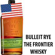 Bulleit Rye, The Frontier Whisky 0,7L