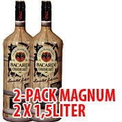 2-pack Bacardi Oakheart MAGNUM Limited Edition x 1,5L