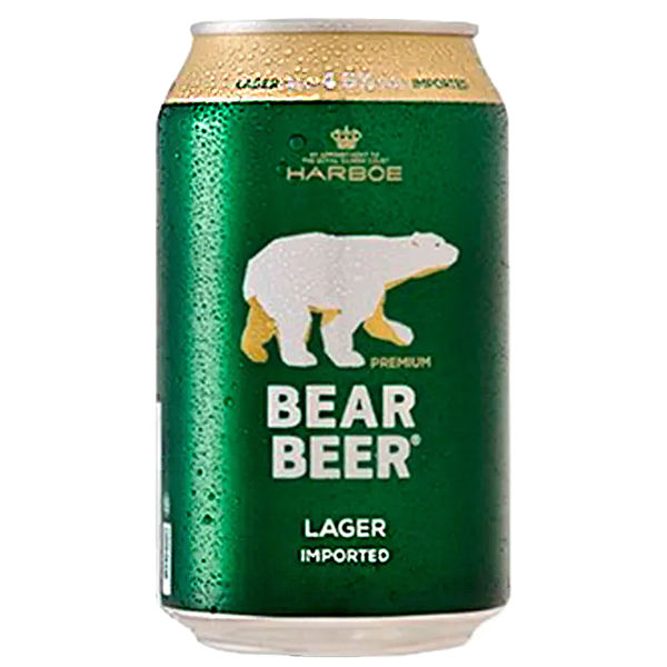 Harboe Bear Beer 7,7% 24x0,33l