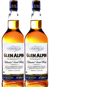 2-pack Glen Alpin Blended Scotch Whisky 2st x 1 liter**