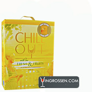 Chill Out Fresh & Fruity Australian Chardonnay 3 Liter BIb