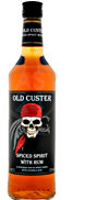 Old Custer Gold Spiced Rum 0,7L