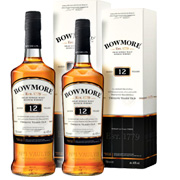 2-pack Bowmore 12 years Single Malt x0,7L
