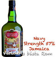 Compagnie Des Indes Jamaica Rum Navy Strength 57% 0,7l