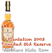 Plantation Trinidad (13yrs) 2003 Old Reserve 0,7L