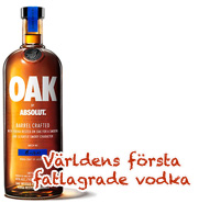 Absolut Oak Barrel Crafted 1L