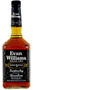 Evan Williams Black Extra Aged Kentucky Straight Bourbon Whiskey 1L