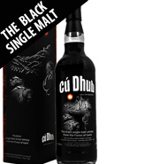 Cu Dhub The Black Single Malt Whisky 1L