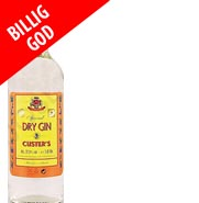 Custers Dry Gin 1 Liter