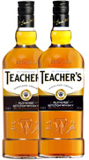 2-pack Teachers Highland Cream x 0,7L