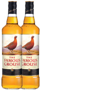 2-pack Famous Grouse x 1 Liter