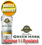 Green Mark Premium Russian Vodka 1L*