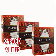 3-pack Zafrica Game Reserve Cape Red (Rot) x3L