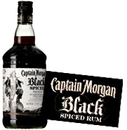 Black Spiced Captain Morgan 1L