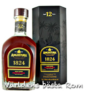 Angostura 1824 Hand Crafted Rum 12 years Trinidad 0,7L