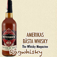 Rittenhouse Famous Straight Rye 100% Proof Whisky 0,7L
