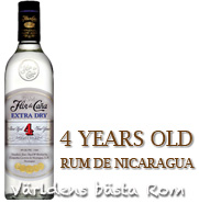 Flor de Cana Extra Dry 4 years old Slow Aged (Nicaragua) 1L