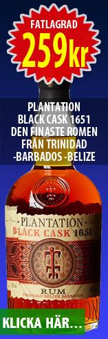 Plantation Black Cask