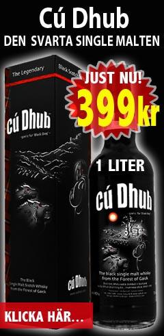 Cu Dhub Den svarta malt whiskyn