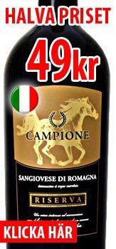Campione Riserva 49kr