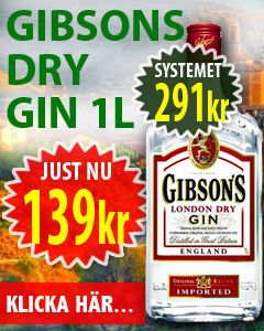 139kr Gibson London Dry Gin