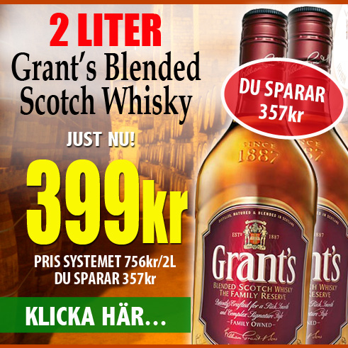 Grants Whisky Vingrossen
