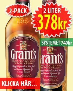 2-pack Grants Whisky