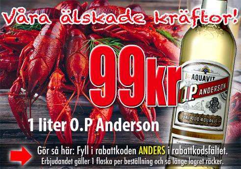 OP Andersson 99kr Vingrossen.com