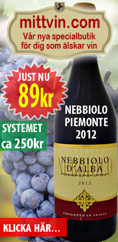 89kr Nebbiolo Piemonte 2012