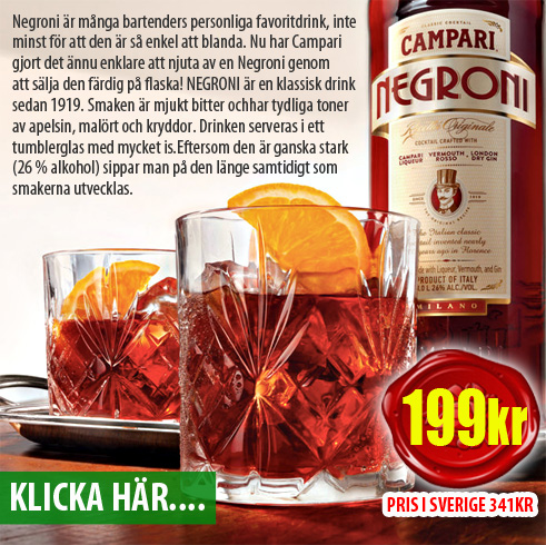 Negroni by Campari