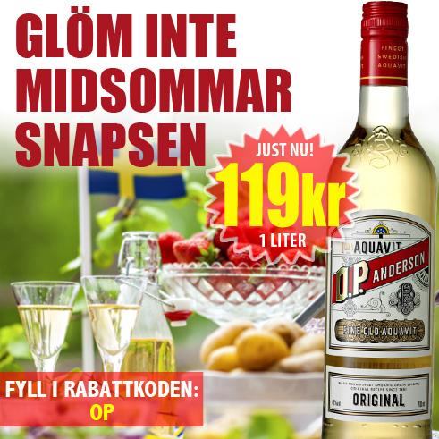 219kr OP Andersson 1 liter