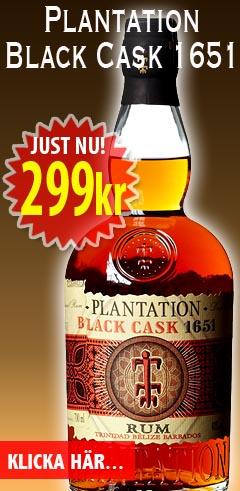 Plantation Black Cask 299kr