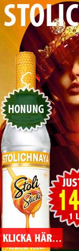 149kr 1L Stolichnaya Honung