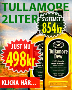 Tullamore Irish Whisky Vingrossen