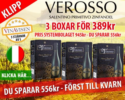 Verosso 3pack