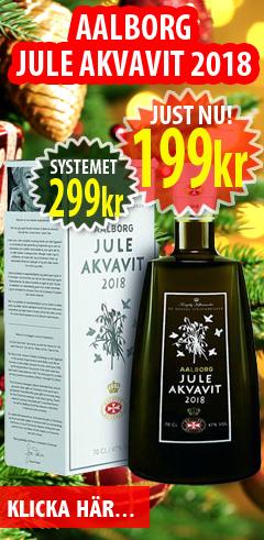 199kr Aalborg Julakvavit